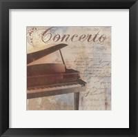 Concerto Framed Print