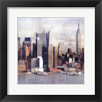 New York Skyline I Framed Print