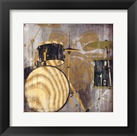 Drums Framed Print
