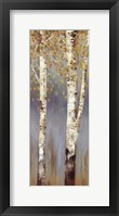 Framed Butterscotch Birch Trees II - MINI