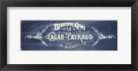 Framed Beautful Gems - Blue