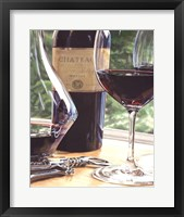 Framed Vin Rouge