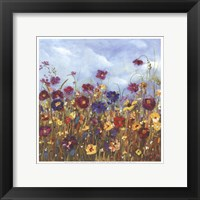 Framed Sunshine Meadow II - Mini