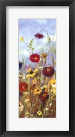 Framed Meadow Florals I - Mini