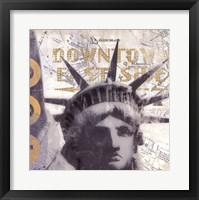 NY II Framed Print