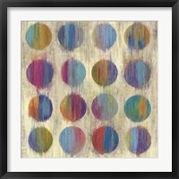 Framed Ikat Dots II