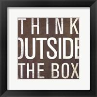 Framed Think - Mini