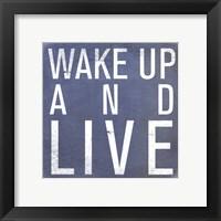 Framed Wake Up - Mini