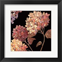Framed Velvet Hydrangeas I - Mini