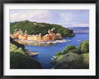 Framed Vista dal monte di Portofino