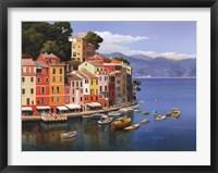 Framed Portofino, Italian Riviera