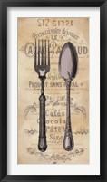 Cuisine I Framed Print