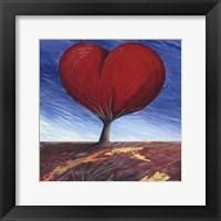 Framed Heart of the Earth