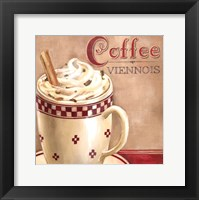 Framed Coffee Viennois