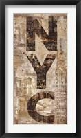 Framed NYC Vertical