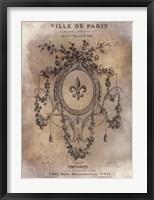 Framed Ville de Paris