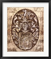 Framed Coat of Arms I