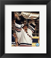 Framed Mike Richter - '93/'94 with cup