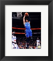 Framed Russell Westbrook 2012-13 Action in basketball