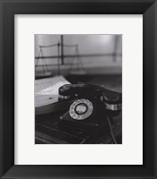 Framed Telephone