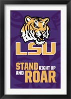 Framed Louisiana State University - Logo 13