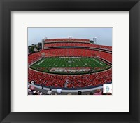 Framed Sanford Stadium Univserity of Georgia Bulldogs 2012