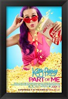 Framed Katy Perry: Part of Me 3D - popcorn