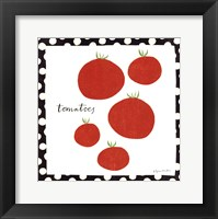 Framed Simple Tomatoes