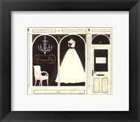Parisienne Chic Framed Print