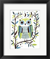 Framed Night Owl II