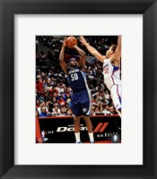 Framed Zach Randolph 2012-13 Action