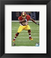 Framed Alfred Morris 2012 Action