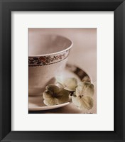 PRINCESS IVORY Framed Print