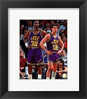 Framed Karl Malone & John Stockton 1994 Action