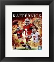 Framed Colin Kaepernick 2012 Portrait Plus