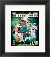Framed Ryan Tannehill 2012 Portrait Plus