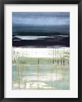 Framed Sea and Sky I