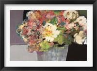 Flower Market Framed Print