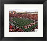 Framed Camp Randall Stadium University of Wisconsin Badgers 2012