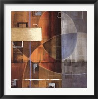 Theory in Form Framed Print