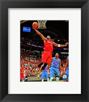 Framed Dwyane Wade 2012-13 Action