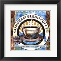 Framed Sunbeam Blend Coffee