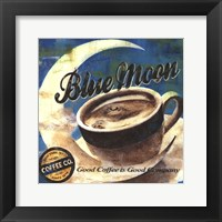 Framed Blue Moon Coffee