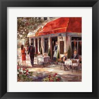 Cafe Afternoon II Framed Print
