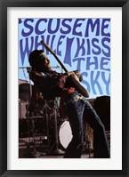 Framed Jimi Hendrix - Kiss the Sky