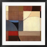 INTERSECT I Framed Print
