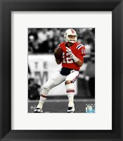 Framed Tom Brady 2012 Spotlight Action