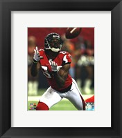Framed Roddy White 2012 NFC Divisional Playoff Action