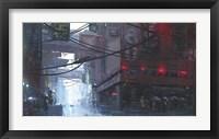 Framed Japan Rain