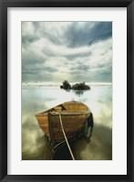 Framed Old Boat